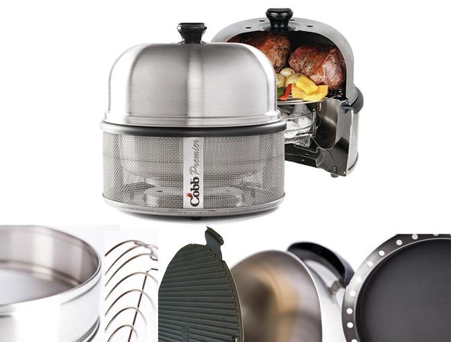 Kitchen In A Box : Order Cobb Premier Kitchen-In-A-Box Grill Bundle @ $299.00 Qty :