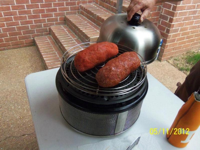 Beef fatty and a sausage fatty.