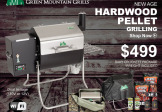 Green Mountain Grill – Davy Crockett Package Deal